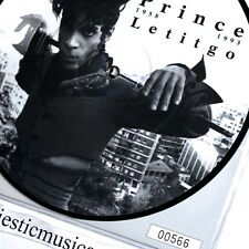 BEAUTIFUL PRINCE PICTURE DISC 7 INCH VINYL NUMBERED 566 LET IT GO NM ORIGINAL