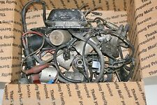 Older OMC Johnson Evinrude Used Parts Electrical LOT Outboard motor Sea Ray Boat