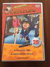 DETECTIVE CONAN DVD 29 - 1 DVD - 2 CAPS - 50 MIN - JONU MEDIA PLANETA DEAGOSTINI