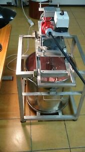 50L Edelstahl Rührmaschine Knetmaschine Teigmaschine Küchenmaschine Rührgerät