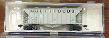 Athearn 23026 N scale 40' 2600 CF Airslide Hopper Multi Foods #46041 NIB
