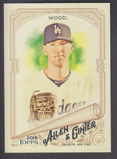 Topps - Allen & Ginter 2018 - Base # 87 Alex Wood - Los Angeles Dodgers