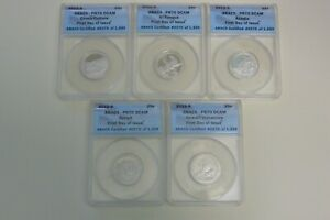 2012 S CLAD National Parks Quarter Set ANACS PR70DCAM First Day of Issue