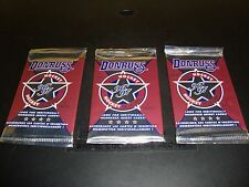 1996-97 Donruss Hockey Card 3 Pack Lot Factory Sealed Mint Condition Elite Gold