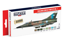 HATAKA Falklands Conflict Paint Set Vol.1 (Red) AS27 (Brand New)