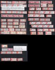 Einschreibezettel R-Zettel Gaildorf registration label
