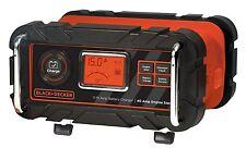 Black & Decker 15 Amp Bench Battery Charger Fast, Trickle, Engine Start Timer