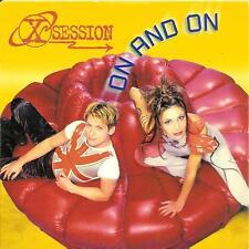 X-SESSION - on and on CD SINGLE eurodance 1999 RARE!!