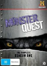Monster Quest COMPLETE Season 1 GENUINE RELEASE R4 DVD, 13 EPISODES ON 4-Discs