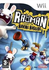 Rayman Raving Rabbids (Nintendo Wii, 2006) Neu und versiegelt