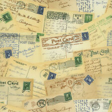 Stephanie Wright RJR Adventures Postcard Post Cards Post Fabric Yard