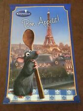 DISNEY RATATOUILLE POSTER - REMY BON APETIT 22.5 inches x 34 inches
