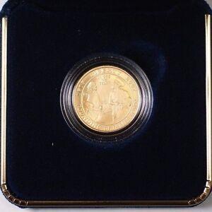 2007 W Jamestown BU $5 Gold Commemorative Coin Brilliant Uncirculated