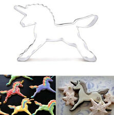 Unicorn Horse Stainless Steel Cookie Cutter Cake Baking Mould Biscuit
