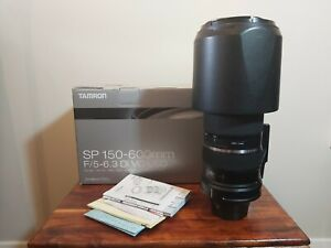 Tamron SP A011 150-600mm F/5-6.3 VC Di USD Lens For Nikon Manual Only