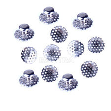 10pcs Denal Orthodontic TOMY Round Perforated Hollow Lingual Buttons with Holes