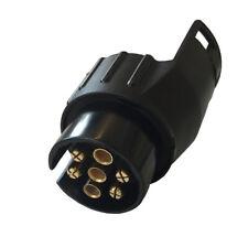 Adapter Anhängerkupplung 13 poliger Stecker auf 7 polige Steckdose