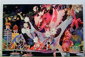 Disneyland It's a Small World Africa Postcard Old Vintage Card View Standard PC