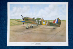 John Ficklin - Hawker Hurricane I - signed by Ficklin and ace R. Stanford Tuck