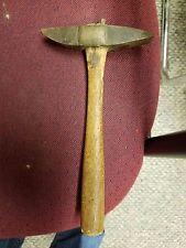 Antique pick hammer coal gold silver mining railroad tool rock hammer