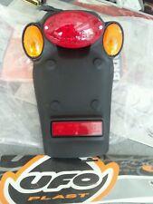 Portatarga completo di stop e frecce per enduro Ufo Pp01213
