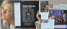 CLAIRE MARTIN : CUTTINGS COLLECTION -interview-