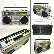 SANYO M9922RK 4 Band Radio Cassette Boombox