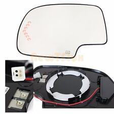 Fits GM SUV PU~LEFT DRIVER SIDE~MIRROR-GLASS+Backing Pad+LED Signal+Power+Heated