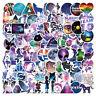 100Pc Mixed Galaxy Stickers Stars Dream Anime Cartoon Sticker DIY Luggage Laptop