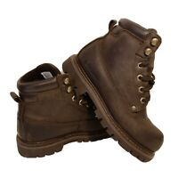 Women's Columbia Waterproof Brown Leather Mid Top Lace Up Boots Size 7