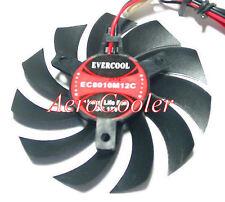 EverCool Video Card Fan EC8010M12C 80x80x10mm, 2pin