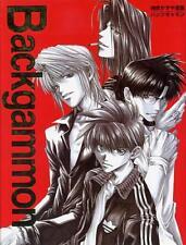 Saiyuki Backgammon Artbook #1, by Kazuya Minekura, hardcover anime artbook manga
