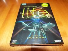 LIFE-4-Disc BBC EARTH DISCOVERY CHANNEL OPRAH WINFREY PLANET EARTH DVD SET NEW