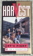 Harvest ~ LET'S FIGHT FOR A GENERATION ~ 1992 VHS video