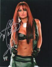 WWE SIGNED PHOTO MARIA KANELLIS WRESTLING PROMO WITH PROOF & COA