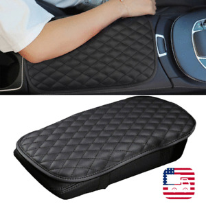 PU leather For JEEP Car Center Console Armrest Cushion Mat Pad Cover 20*30cm X1