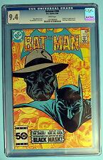 BATMAN #386 1st ROMAN SIONIS aka BLACK MASK 1985 TV Gotham? Low Print CGC NM 9.4