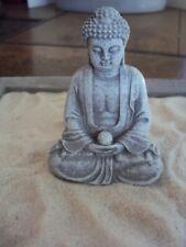 MINIATURE GARDEN MEDITATING MINI BUDDHA, CHINESE, ZEN GARDEN, TERRARIUM, BONSAI