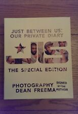JLS Just Between Us Our Private Diary SIGNED Special Edition HB Book 1st/1st