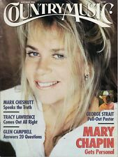 COUNTRY MUSIC MAGAZINE May-June 1995 - Mary Chapin / Mark Chestnut
