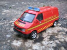 Diecast Volkswagen Transporter VW T4 Police Minibus 1/43 scale.