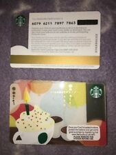 Orange/yellow Creamed Latte Party /Candle UK Starbucks Card 2012 Coffee 6079
