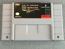 Super Nintendo SNES Game: Tommy Moe's Winter Extreme VERY GOOD CONDITION