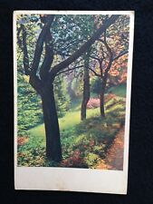 A060 - 1942 Alberi e fiori Ed. Cecami formato piccolo viaggiata con francobollo