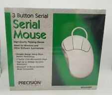 Vintage Precision Instruments 3-Button Serial Mouse New In Box