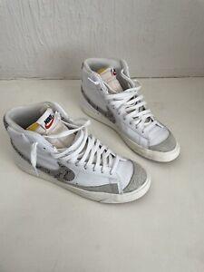 Size UK 8.5 EUR 43 - Nike Blazer Mid Vintage Snakeskin Swoosh - CI1176-101