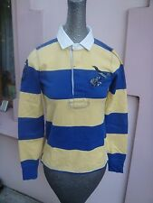 Vintage Polo Ralph Lauren RUGBY 2004 Long Sleeve Stitched Jersey Shirt size S