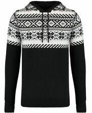 Fair Isle, Nordic Acrylic Long Jumpers & Cardigans for Men