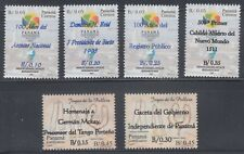 Panama 2012 Surchages Complete  mint never hinged