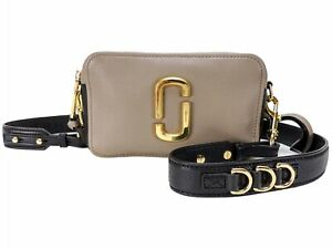 Marc Jacobs The Softshot 21 Leather Crossbody Bag - Cement Multi